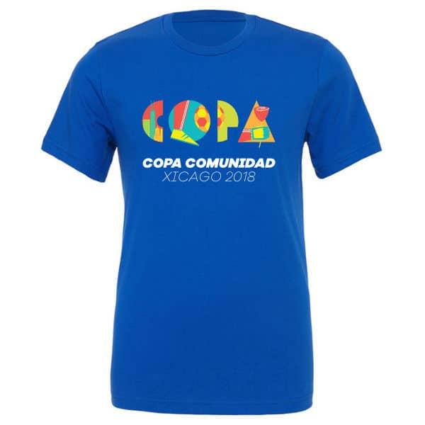 Copa Comunidad Xicago 2018 T-Shirt